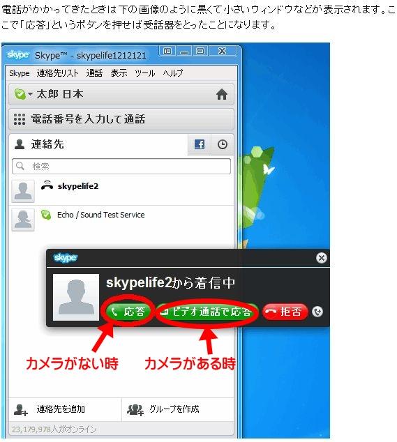skypeDisplayOutou